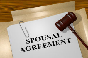 spousal agreement